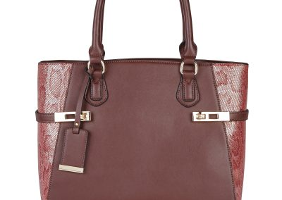 CAMILLE TOTE RED