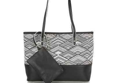 HARLOW SHOPPER BLACK