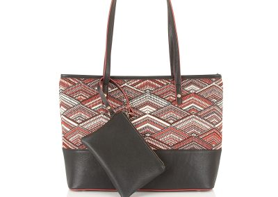 HARLOW SHOPPER RED