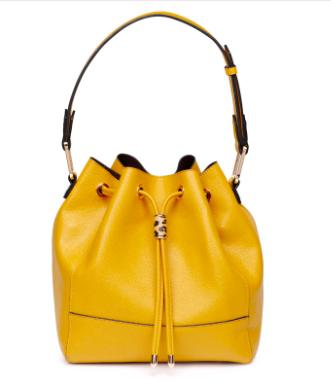 Mustard Bucket Bag