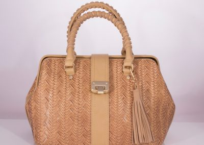 Sand Plait Weave Doctor's Bag