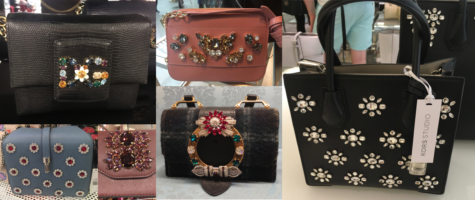 jewelled bags
