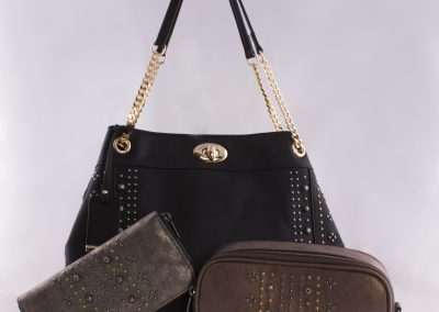 Mixed Metal Studded Bags Collection