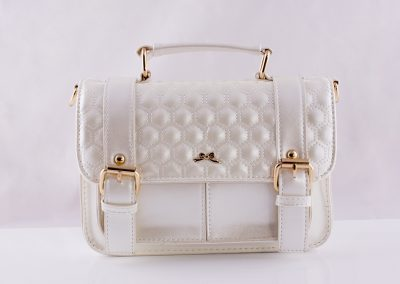 Pearlised Quilt Satchel - Teen Fashion