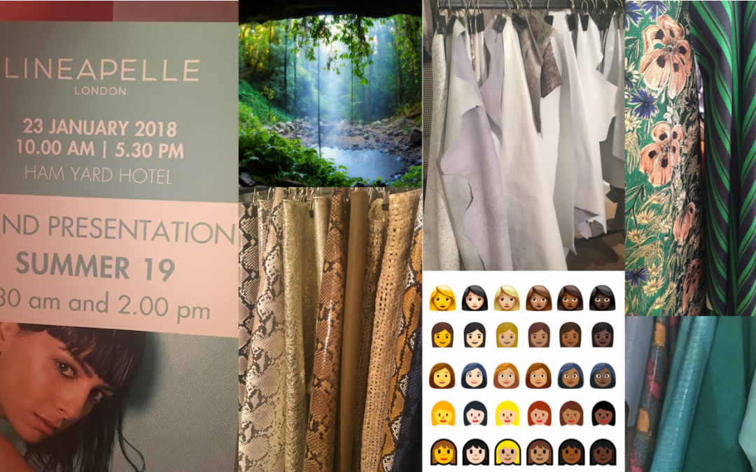 SS19 Lineapelle London Trend Presentation