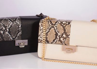 Snake Boxy Chain Strap Collection